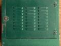 Meazzi PA306 groen met deksel, top.