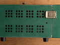 Meazzi PA306 groen met deksel, zijkant rechts.