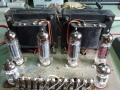 Poweramp van Meazzi Stereo automatic PA 304 met 2x2x EL84 eindbuizen.