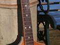 Meazzi Alpha gitaar 1 pickup 1961-1964 Sparkle Orange, front.