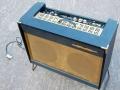 Meazzi Concertorama 15 watt buizen combo 1964 op stand, bovenzicht.