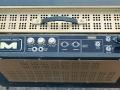 Meazzi Concertorama 15 watt buizen combo 1964, top 2 2 kanalen normal en jazz(brilliant), volume en toonregeling. Mains, gitaar-bas, en standby switch (cond.rete-inclusi).