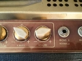 Meazzi Paramount 1964 buizen, panel rechts, 2 kanalen normal en jazz, volume, bass, treble control.