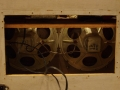 Meazzi Ultrasonic PA588 1960-1963, 2x8 inch speakers.