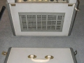 Meazzi Ultrasonic PA588 1960-1963, back met losse deksel.