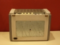 Meazzi Ultrasonic PA588 1960-1963, back met modificatie jack externe speaker.
