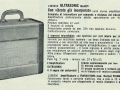 Meazzi Ultrasonic PA588 buizenversterker 12 watt, in Meazzi catalogus april 1962.