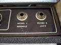 Inputs Normal en Jazz van Meazzi Metropolitan amp 1959.