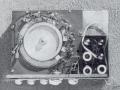 Alan Jackson's Framez fabrikaat  Echomatic Model. No. 2  met voxECHO badge, open top.
