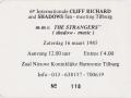 1985 maart 6e Harmonie ticket middag.