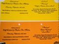 1996 september 31e Eindhoven ticket avond en middag.