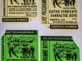 1997 maart 32e tickets middag, avond en passepartout.