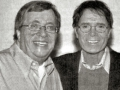 Harry de Louw van de Nederlandse Fanclub Dynamite met Cliff Richard.