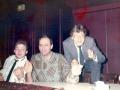 Genieten van de muziek, in het midden Endre Barcs (Hongarije) en rechts Ad Verhagen uit Tilburg (geen familie).