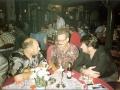 Ton Verhagen aan tafel met de fans in de Harmoniezaal.