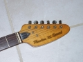 V209 Phantom VI Special 1962, 3 pickups, UK model, headstock front.