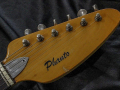 V209 Phantom VI 3 pickups 1962, made in UK, headstock front met serienummer.