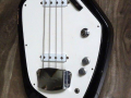 V210 Phantom IV Bass 1962-1963 Black, 2 pickups, UK model, body front.