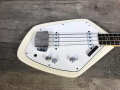 V210 Phantom IV Bass 1962-1963 White, 2 pickups, UK model, body front.