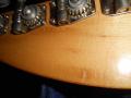 V210 Phantom IV Bass 1962-1963 White, 2 pickups  UK model, headstock back met ingeslagen serienummer.