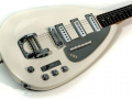 V222 Mark VI Special 1965, 3 pickups, White UK model , body front.