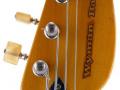 V248 Wyman Bass Tobacco Sunburst 2 pickups 1966, UK model, headstock front.