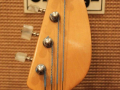 V248 Wyman Bass Tobacco Sunburst 2 pickups 1969, UK model, headstock front.