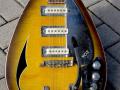 V252 Spitfire MKVI Acoustic 1966 3 pickups UK model, body front.