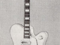 Victor 1963 1e hollowbody hand builded by Vic da Costa, 2 pickups en tremolo.