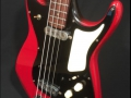 Burns Artist Bass 1960, body in Cherry Red.