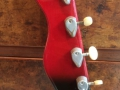 Burns Artist Bass 1960, headstock back.
