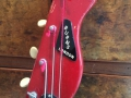 Burns Artist Bass 1960, headstock front.