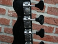 Burns Black Bison Bass 1961, headstock back.