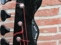 Burns Black Bison Bass 1961, headstock front.