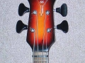 Burns GB66 Bass 1965, headstock front.