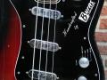 Burns Jazz Bass Redburst 1964, body.