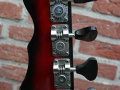 Burns Jazz Bass Redburst 1964, headstock back.