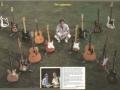 Deel Hank's gitarencollectie 1986.