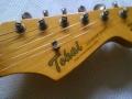 Kop Tokai Goldstar, beschouwd als een van de beste copie Stratocasters.