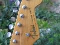 Kop Tokai Springly Sound, beschouwd als een van de beste copie Stratocasters.