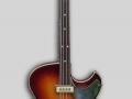 Een Besson (fabrikaat Framus) Star bas zoals Jet Harris gebruikte tot 1959.