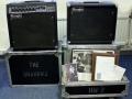 Hank's Mesa Boogie gear MK2c Amp plus tweede speakercabinet, gebruikt in de tachtiger jaren.
