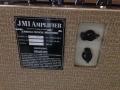 JMI 50th Anniversary AC30 T, JMI 50th Anniversary, back mewt typeplaatje en Top Boost unit.
