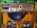 Mojo Amp van Roberto Pistolesi, 15 watt buizen amp open back met 1x12 inch Celestion speaker en 2xEL34 eindtrap.