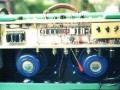 Mojo Amp van Roberto Pistolesi, 35 watt buizen amp open back met 2x12 inch Celestion speaker en 4xEL34 eindtrap, geinspireerd op het prototype van de AC30.