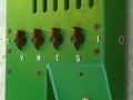 Mojodrive van Roberto Pistolesi, tube overdrivedistortion pedal, top.