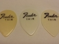 Plectrum Cliff Richard Fender Thin.