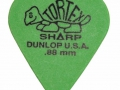 Dunlop Tortex Sharp 0.88 mm (Alternatief).