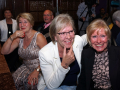 Reunie Back to Tilburg, Astrid van de Water en Marijke Hengeveld als vanouds erbij. (Foto: The Red Strats)