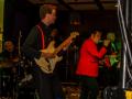 Reunie Back to Tilburg, avondoptreden The Explosion Rockets, met zanger Ruud.